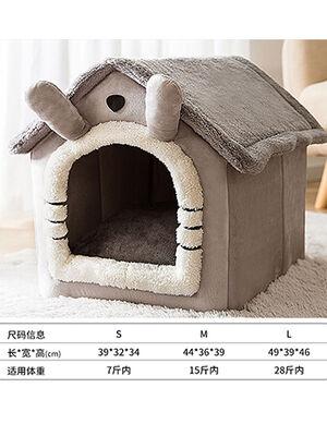 Pet House Grey Large