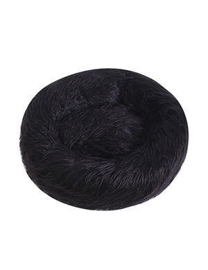 Plush Bed Black Large