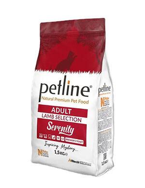 Petline Natural Premium Adult Cat Food Lamb Selection Serenity 1.5kg