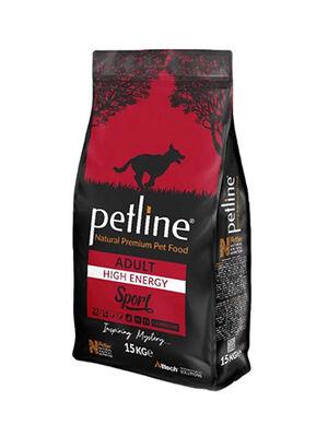 Petline Natural Premium Adult High Energy Sport Dog Food 15kg