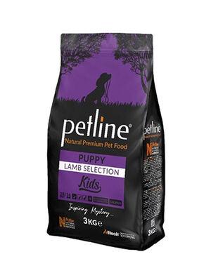 Petline Natural Premium Puppy Lamb And Rice Dog Food 3kg