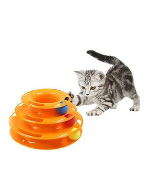 Petstore Tower Toy Orange