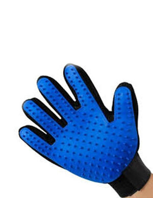 Petstore Pet Massage Gloves Blue