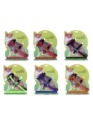 Petstore Kitten Harness With Leash Green