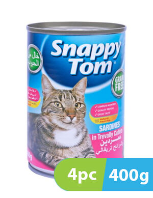 Snappy Tom Sardines in Trevally Cutlets 4pc x 400g