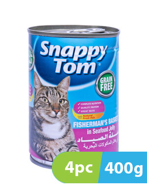 Snappy Tom Fisherman's in Seafood Jelly 4pc x 400g