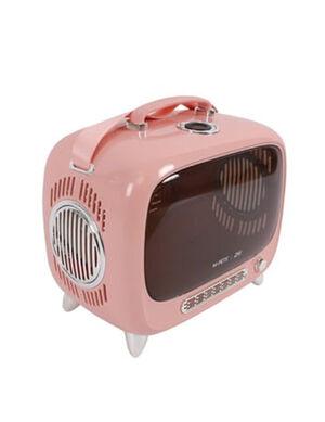 M-Pets SIXTIES TV Pet Carrier Pink