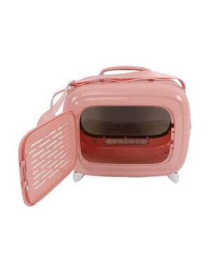 M-Pets SIXTIES TV Pet Carrier Pink -  Dogs product