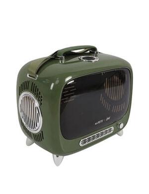 M-Pets SIXTIES TV Pet Carrier Green