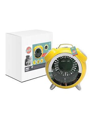 M-Pets SIXTIES Clock Pet Carrier Yellow