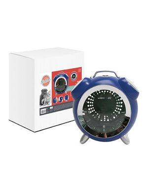 M-Pets SIXTIES Clock Pet Carrier Blue