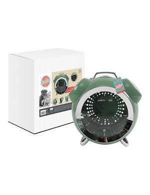 M-Pets SIXTIES Clock Pet Carrier Green