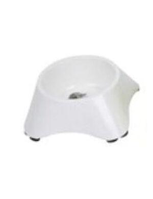M-Pets Melamine Single Bowl White 1100ml