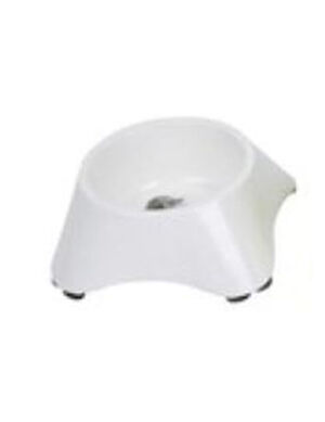 M-Pets Melamine Single Bowl White 450ml