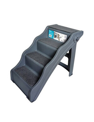 M-Pets Foldable 4 Steps Stairs