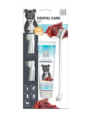 M-Pets Toothpaste Beef Flavor Kit