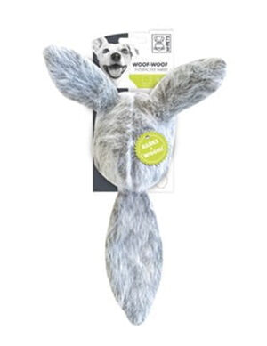 M-Pets Woof Interactive Rabbit Dog Toy