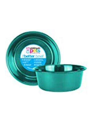 Platinum Pets Dog Bowl Turquoise Blue Small