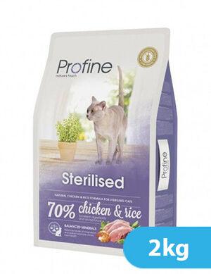 Profine Cat Sterilised Chicken & Rice 2kg