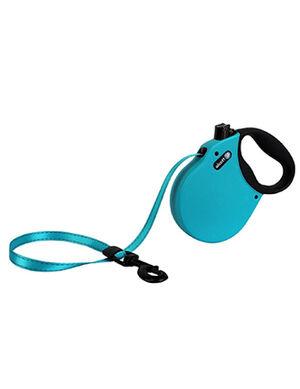 Alcott Adventure retractable leash, 5 m - Large - Blue