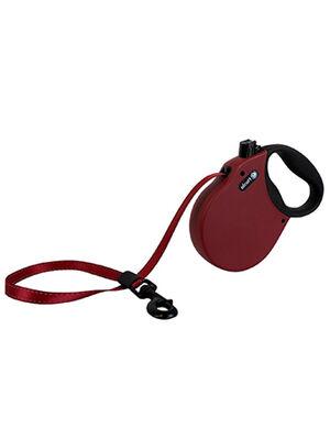 Alcott Adventure retractable leash, 5 m - Large - Red