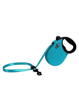 Alcott Adventure retractable leash, 5 m - Medium- Blue