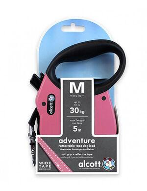 Alcott Adventure retractable leash Medium Pink -  Dogs product