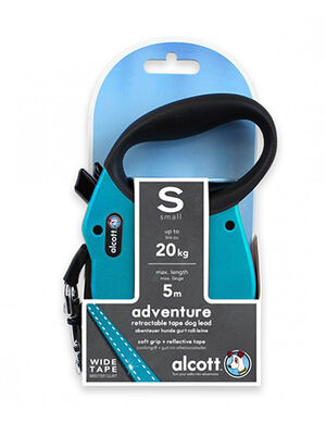Alcott Adventure retractable leash Small Blue -  Dogs product