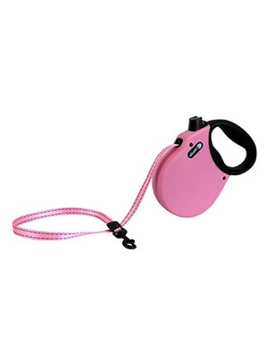 Alcott Adventure retractable leash Small Pink