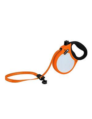 Alcott Visibility retractable leash Medium Neon Orange