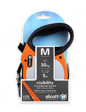 Alcott Visibility retractable leash Medium Neon Orange -  Dogs product