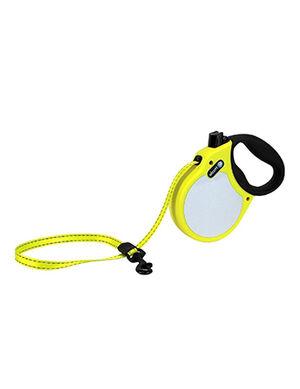 Alcott Visibility retractable leash Medium Neon Yellow