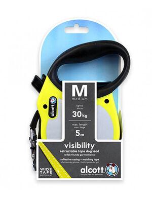 Alcott Visibility retractable leash Medium Neon Yellow -  Dogs product