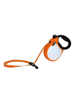 Alcott Visibility retractable leash Small Neon Orange