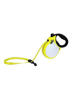 Alcott Visibility retractable leash Small Neon Yellow