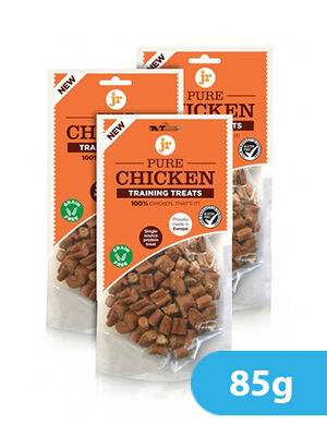 JR Pet Products Pure Chicken Training Treats 85g