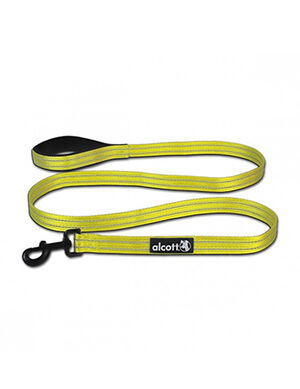 Alcott Adventure Leash Large Neon Yellow