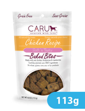 Caru Chicken Recipe Bites 113g