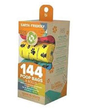 Earth Friendly Lavender Scented Poop 144 Bags