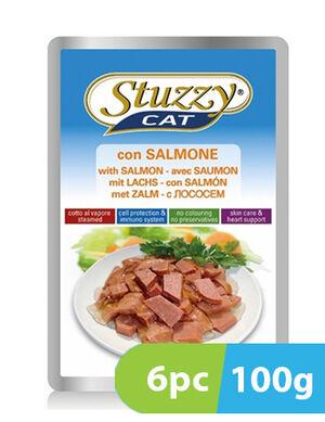 Stuzzy Cat with Salmon 6pc x 100g