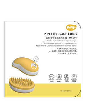 Mango 2 in 1 massage comb MF-904