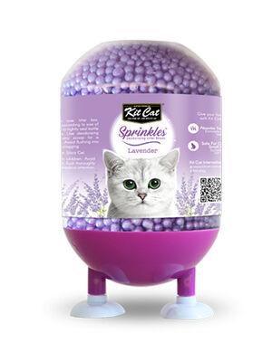 Kit Cat Litter Sprinkle Deodorizing Beads Lavender 240 g