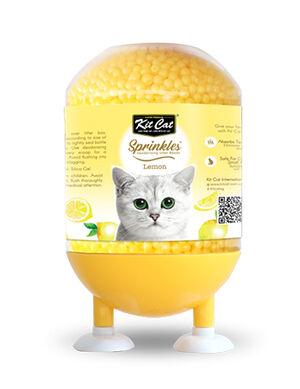 Kit Cat Litter Sprinkle Deodorizing Beads Lemon 240 g