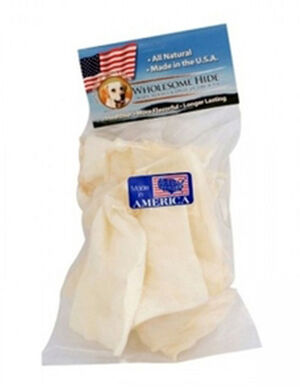 Wholesome Hide Large Chips With Header 6oz