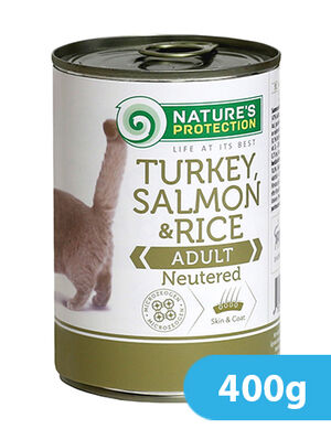 Natures Protection Turkey, Salmon & Rice Adult 400 gr