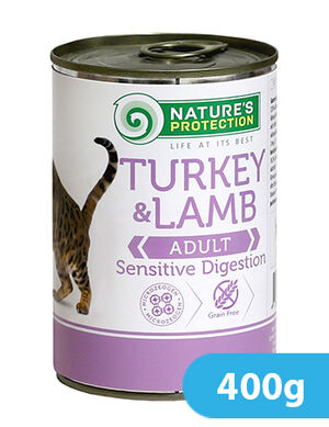 Natures Protection Turkey & Lamb Adult 400 gr