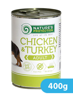 Natures Protection Chicken & Turkey Adult 400 gr