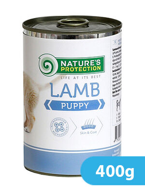 Natures Protection Lamb Puppy 400 gr