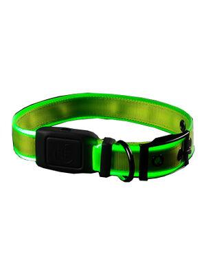 Niteize Nite Dog Rechargeable LED Collar Lime Medium