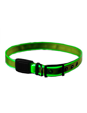 Niteize Nite Dog Rechargeable LED Collar Lime X-Large